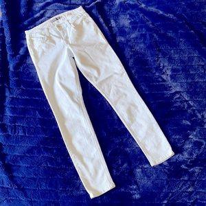 LEVEL 99-LIGHT BLUE & WHITE PIN STRIPES DENIM PANT
